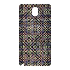 Multicolored Ethnic Check Seamless Pattern Samsung Galaxy Note 3 N9005 Hardshell Back Case by dflcprints