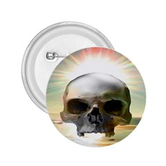 Skull Sunset 2 25  Buttons by icarusismartdesigns