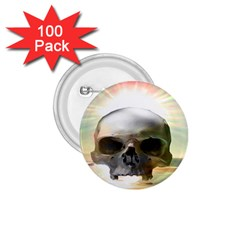 Skull Sunset 1 75  Buttons (100 Pack)  by icarusismartdesigns