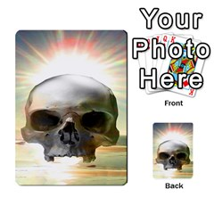Skull Sunset Multi Purpose Cards (rectangle)