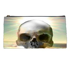 Skull Sunset Pencil Cases by icarusismartdesigns