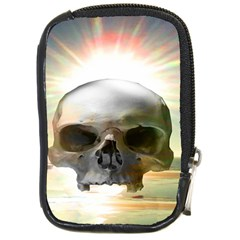 Skull Sunset Compact Camera Cases by icarusismartdesigns
