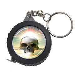 Skull Sunset Measuring Tapes by icarusismartdesigns