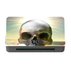 Skull Sunset Memory Card Reader With Cf by icarusismartdesigns