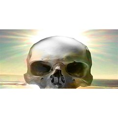 Skull Sunset You Are Invited 3d Greeting Card (8x4)  by icarusismartdesigns