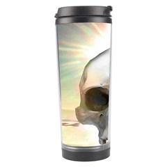 Skull Sunset Travel Tumblers by icarusismartdesigns