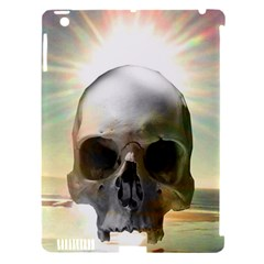 Skull Sunset Apple Ipad 3/4 Hardshell Case (compatible With Smart Cover) by icarusismartdesigns
