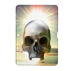 Skull Sunset Samsung Galaxy Tab 2 (10.1 ) P5100 Hardshell Case  by icarusismartdesigns