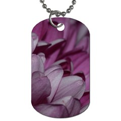 Purple! Dog Tag (two Sides) by timelessartoncanvas