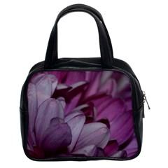 Purple! Classic Handbags (2 Sides) by timelessartoncanvas
