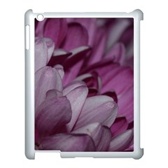 Purple! Apple Ipad 3/4 Case (white) by timelessartoncanvas