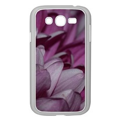 Purple! Samsung Galaxy Grand Duos I9082 Case (white) by timelessartoncanvas
