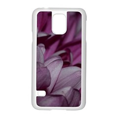 Purple! Samsung Galaxy S5 Case (white) by timelessartoncanvas