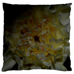 Yellow Flower Large Cushion Cases (one Side)  by timelessartoncanvas