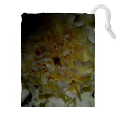 Yellow Flower Drawstring Pouch (XXL)