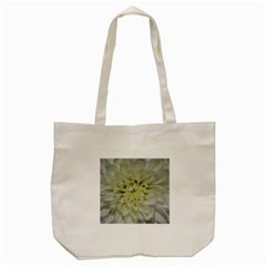 White Flowers Tote Bag (cream)  by timelessartoncanvas