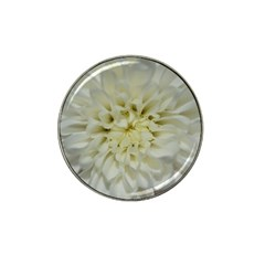 White Flowers Hat Clip Ball Marker (10 Pack) by timelessartoncanvas