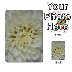 White Flowers Multi Purpose Cards (rectangle)  by timelessartoncanvas