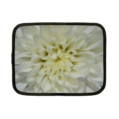 White Flowers Netbook Case (small)  by timelessartoncanvas