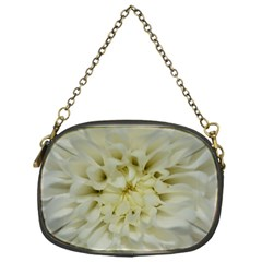 White Flowers Chain Purses (one Side)  by timelessartoncanvas