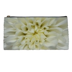 White Flowers Pencil Cases