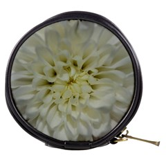 White Flowers Mini Makeup Bags