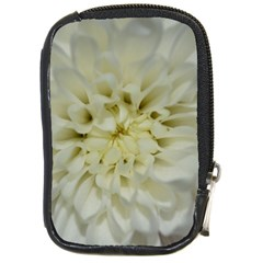 White Flowers Compact Camera Cases by timelessartoncanvas