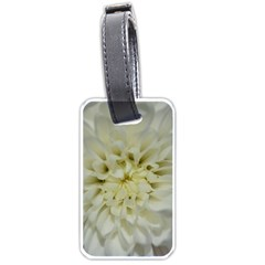 White Flowers Luggage Tags (two Sides) by timelessartoncanvas
