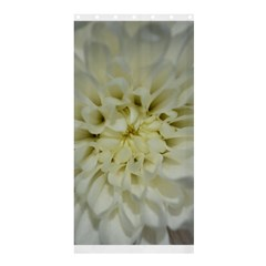 White Flowers Shower Curtain 36  x 72  (Stall)