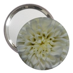 White Flowers 3  Handbag Mirrors by timelessartoncanvas