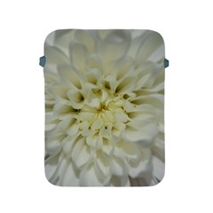 White Flowers Apple iPad 2/3/4 Protective Soft Cases