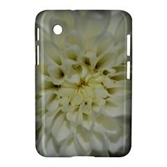 White Flowers Samsung Galaxy Tab 2 (7 ) P3100 Hardshell Case