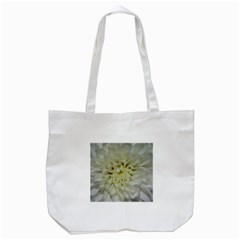 White Flowers Tote Bag (white)  by timelessartoncanvas
