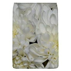 White Flowers 2 Flap Covers (s)  by timelessartoncanvas