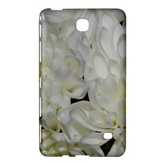White Flowers 2 Samsung Galaxy Tab 4 (8 ) Hardshell Case  by timelessartoncanvas