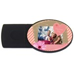 love - USB Flash Drive Oval (4 GB)