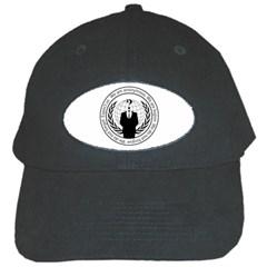 Anonymous Seal  Black Cap by igorsin