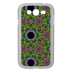 Repeated Geometric Circle Kaleidoscope Samsung Galaxy Grand Duos I9082 Case (white) by canvasngiftshop
