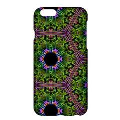 Repeated Geometric Circle Kaleidoscope Apple Iphone 6 Plus/6s Plus Hardshell Case by canvasngiftshop