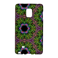 Repeated Geometric Circle Kaleidoscope Galaxy Note Edge by canvasngiftshop