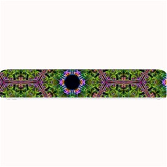 Repeated Geometric Circle Kaleidoscope Small Bar Mats
