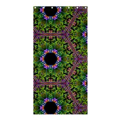 Repeated Geometric Circle Kaleidoscope Shower Curtain 36  X 72  (stall)  by canvasngiftshop