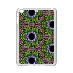 Repeated Geometric Circle Kaleidoscope Ipad Mini 2 Enamel Coated Cases