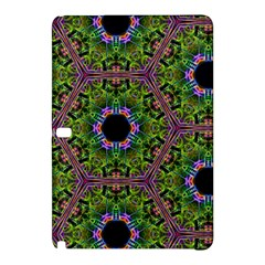 Repeated Geometric Circle Kaleidoscope Samsung Galaxy Tab Pro 10 1 Hardshell Case by canvasngiftshop