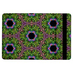 Repeated Geometric Circle Kaleidoscope Ipad Air Flip by canvasngiftshop