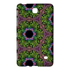 Repeated Geometric Circle Kaleidoscope Samsung Galaxy Tab 4 (7 ) Hardshell Case  by canvasngiftshop