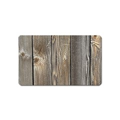 WOOD FENCE Magnet (Name Card) by trendistuff