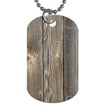 WOOD FENCE Dog Tag (One Side) Front