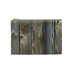 Wood Fence Cosmetic Bag (medium)