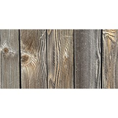 Wood Fence You Are Invited 3d Greeting Card (8x4)  by trendistuff